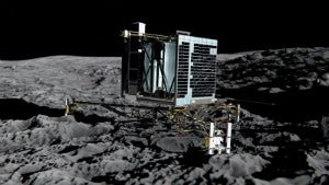 FAULHABER DC motors designed the Philae lander unit to help it firmly anchor onto the comet.