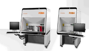 FOBA Laser Marking and Engraving completes its M-Series of compact workstations for industrial laser material processing.
