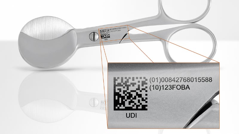 Laser marking enables reliable tracability