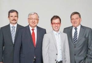 Dr. Schittenhelm, Dr. Spanner, Mr Spanner and Mr Ludwig.
