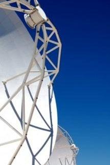 Main and sub-reflectors of a Vertex radio telescope  (Source: ESO/NAOJ/NRA, Elisabeth Stenvers)