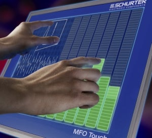 PCI (Projected Capacitive Input) touch-screen technology