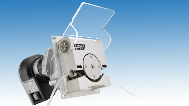 panel mount oem pumps featuring drivesure brushless dc gear motors with fully integrated speed controllers