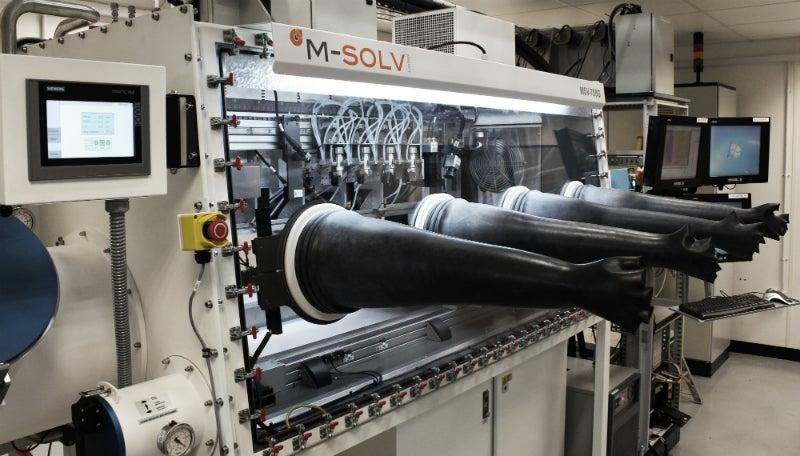 Equipment provider Msolv's machine