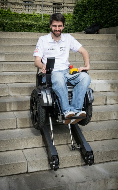 New stair-driving wheelchair