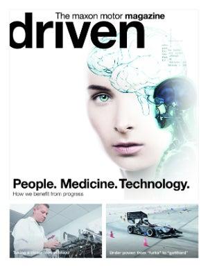 driven magazine by maxon motor