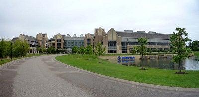 The world headquarters of Medtronic, Fridley, Minnesota, USA